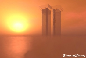 WTC Memorial in Second Life