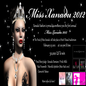 Miss Xanadu 2012