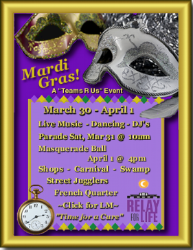 Mardi Gras 2012 RFL of SL Poster