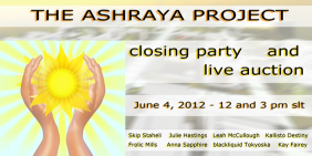 The Ashraya Project Closing Party and Auctions