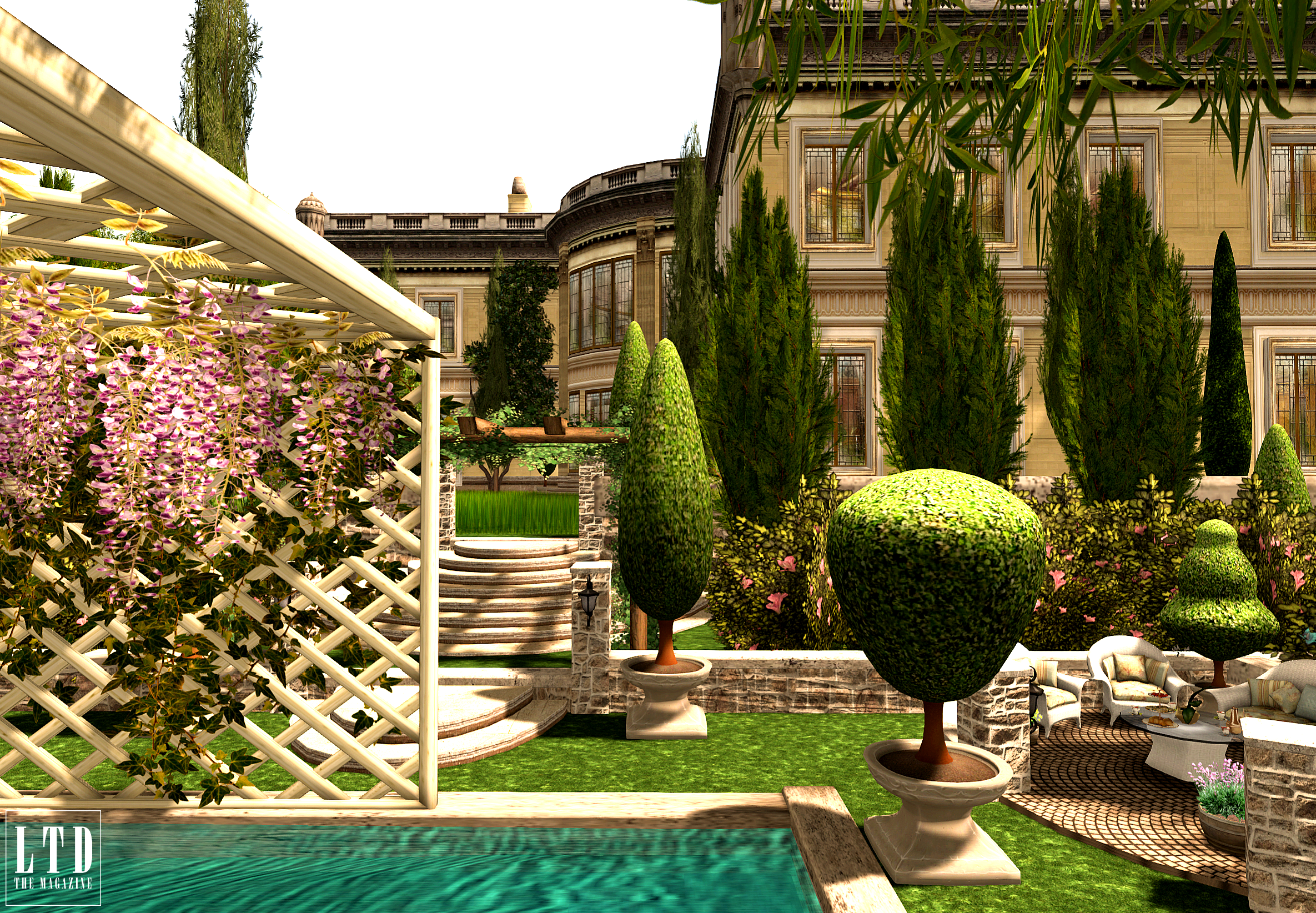 The Gardens Of The Cypress Estate Daily Look Sl